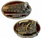 Steam / Train Engine Belt Buckles